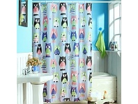 Briscoes NZ Cloud 9 Owl Shower Curtain Multi 120cm x 180cm