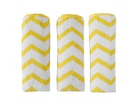 Briscoes NZ Simply Clean Microfibre Cloths White & Yellow 3 Pack