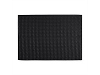 Briscoes NZ Just Home Cuisine Black Placemat