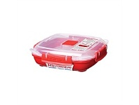 Briscoes NZ Sistema Microwave Plate Red Small