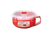 Briscoes NZ Sistema Microwave Breakfast Bowl Red