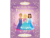 Briscoes NZ Usborne Sticker Dolly Dressing Princess Book