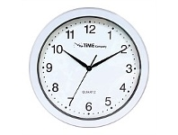 Briscoes NZ The Time Company Basic Wall Clock 31cm White