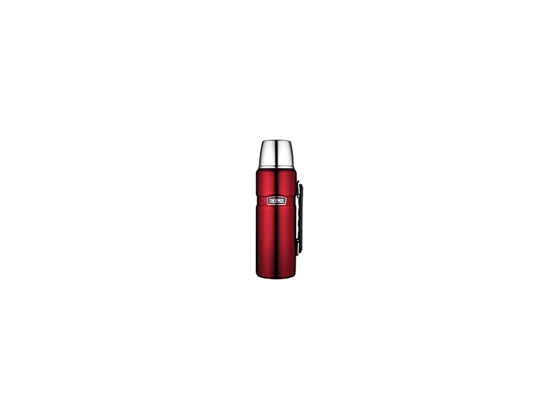Thermos Stainless King Flask Red 1.2L