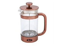 Briscoes NZ Zip Boheme ZIP996 Coffee Plunger Copper 350ml