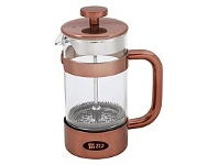Briscoes NZ Zip Boheme ZIP997 Coffee Plunger Copper 800ml