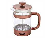 Briscoes NZ Zip Boheme ZIP998 Coffee Plunger Copper 1000ml