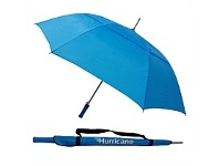Briscoes NZ Hurricane Vented Umbrella Cyan