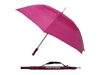 Briscoes NZ Hurricane Vented Umbrella Fushia