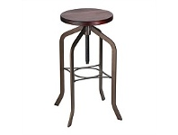 Briscoes NZ Livingstone Barstool Copper