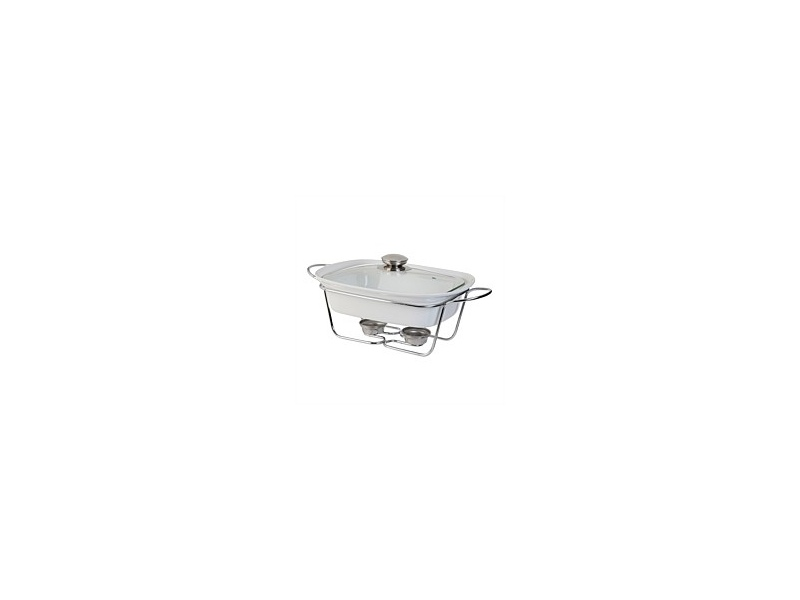 Tablefair Rectangle Casserole with Lid and Stand 1.3L