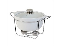 Briscoes NZ Tablefair Round Casserole with Lid and Stand 1.5L