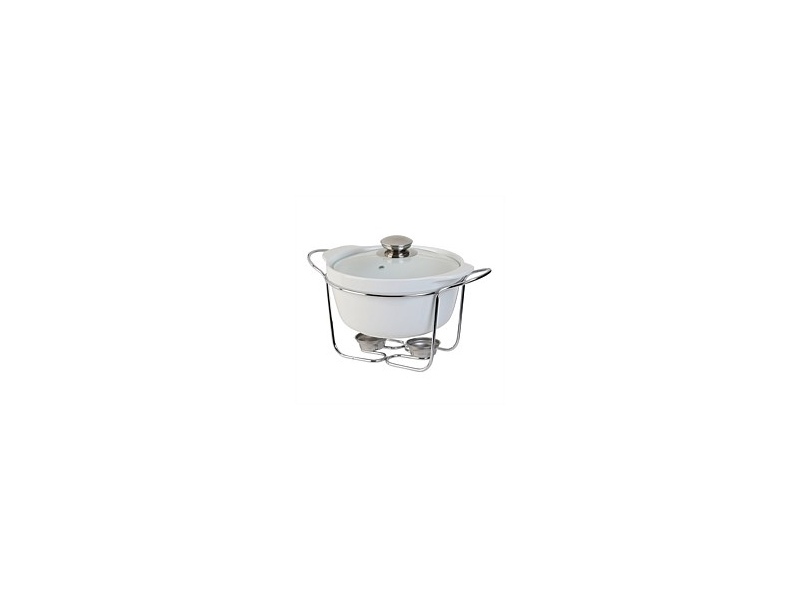 Tablefair Round Casserole with Lid and Stand 1.5L