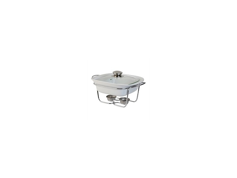 Tablefair Square Casserole with Lid and Stand 1.1L