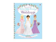 Briscoes NZ Usborne Sticker Dolly Dressing Weddings Book