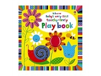 Briscoes NZ Usborne Babys Very First Touchy Feely Playbook Book