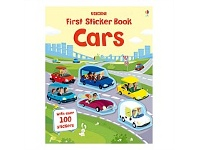 Briscoes NZ Usborne First Sticker Book Cars Book