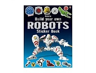 Briscoes NZ Usborne Build Your Own Robots Sticker Book