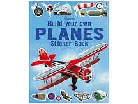 Briscoes NZ Usborne Build Your Own Planes Sticker Book