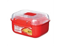 Briscoes NZ Sistema Microwave Container Small Rectangle 525ml