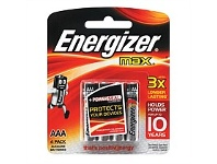 Briscoes NZ Energizer E92bp4TN Max AAA 4 Pack