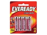 Briscoes NZ Eveready 1015bp4 Heavy Duty AA 4 Pack