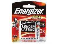 Briscoes NZ Energizer E91BP4TN Max AA - 4 Pack