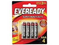 Briscoes NZ Eveready 1212bp4 Super Heavy Duty AAA - 4 Pack