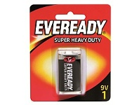 Briscoes NZ Eveready 1222bp1 Super Heavy Duty 9V - 1 Pack