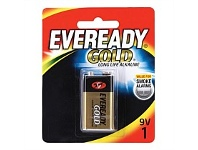 Briscoes NZ Eveready A522bp1 Gold 9V - 1 Pack