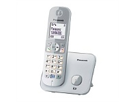 Briscoes NZ Panasonic KX-TG6811NZS Digital Cordless Phone Pearl Silver