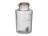 Briscoes NZ Kilner Clip Top Drinks Dispenser 8 Litre