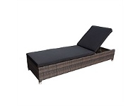 Briscoes NZ Amalfi Promenade Wicker Sunlounger