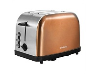 Briscoes NZ Brabantia Toaster Copper 2 Slice BBEK1026
