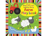 Briscoes NZ Usborne Babys Very First Touchy Feely Farm Play Book