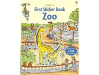 Briscoes NZ Usborne First Sticker Book Zoo Book