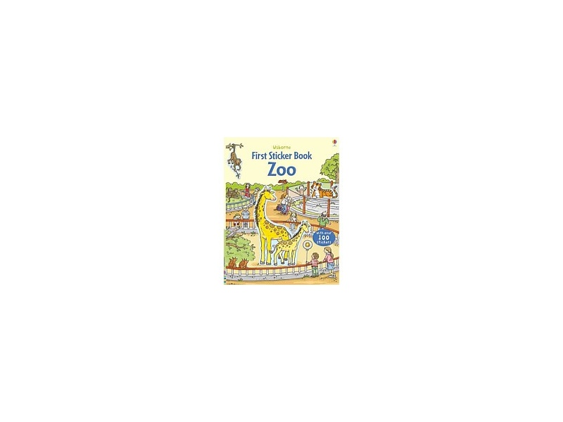 Usborne First Sticker Book Zoo Book