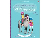 Briscoes NZ Usborne Sticker Dolly Dressing at the Stables Book