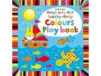 Briscoes NZ Usborne Babys Very First Touchy Feely Colours Play Book