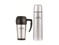 Briscoes NZ Thermos Combo Pack - Flask & Travel Mug