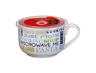Briscoes NZ Ciroa Microwave Me Words Turquoise Mug 750ml