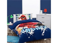 Briscoes NZ Angry Birds Why so Angry Duvet Cover Set