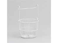 Briscoes NZ Peg Round Basket White