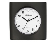 Briscoes NZ The Time Company Vinnie Wall Clock Black 27.8cm