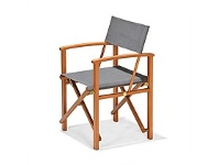 Briscoes NZ Coastal Classic Safari Outdoor Directors Chair Mocha