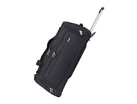 Briscoes NZ Flight Rolling Duffle Black 76cm