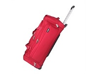 Briscoes NZ Flight Rolling Duffle Red 76cm