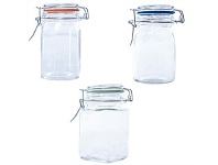 Briscoes NZ Kates Kitchen Glass Spice Jar 250ml Assorted