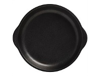 Briscoes NZ Maxwell & Williams Caviar Black Plate w/Handle 20x22.5cm