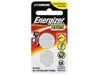Briscoes NZ Energizer Lithium Coin 2025 Battery 2 Pack ECR2025BP2